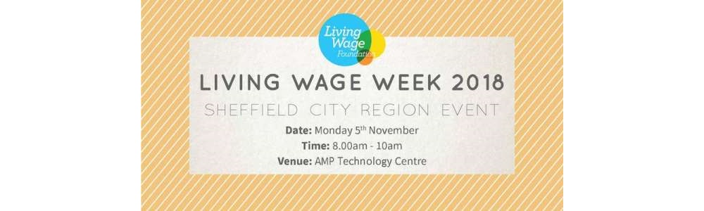 Sheffield City Region Living Wage Event … 5th November